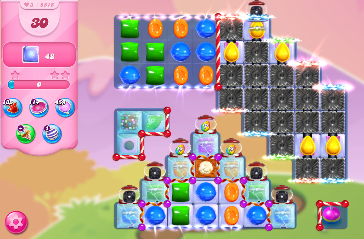 Candy Crush Saga level 5515