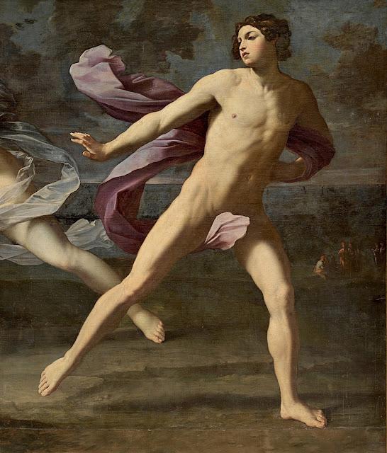Guido Reni: Ippomene e Atalanta (dettaglio)