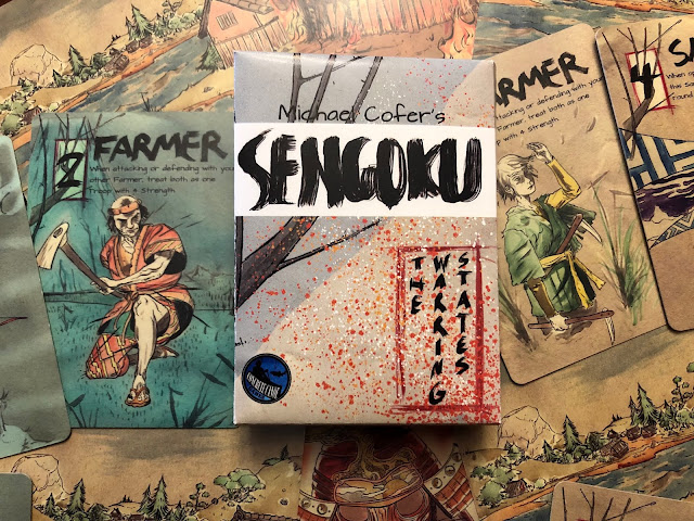 Sengoku: The Warring States Review Board Card Game; Concrete Canoe Games; Photo by Benjamin Kocher