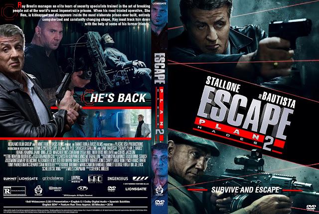 Escape Plan 2: Hades DVD Cover