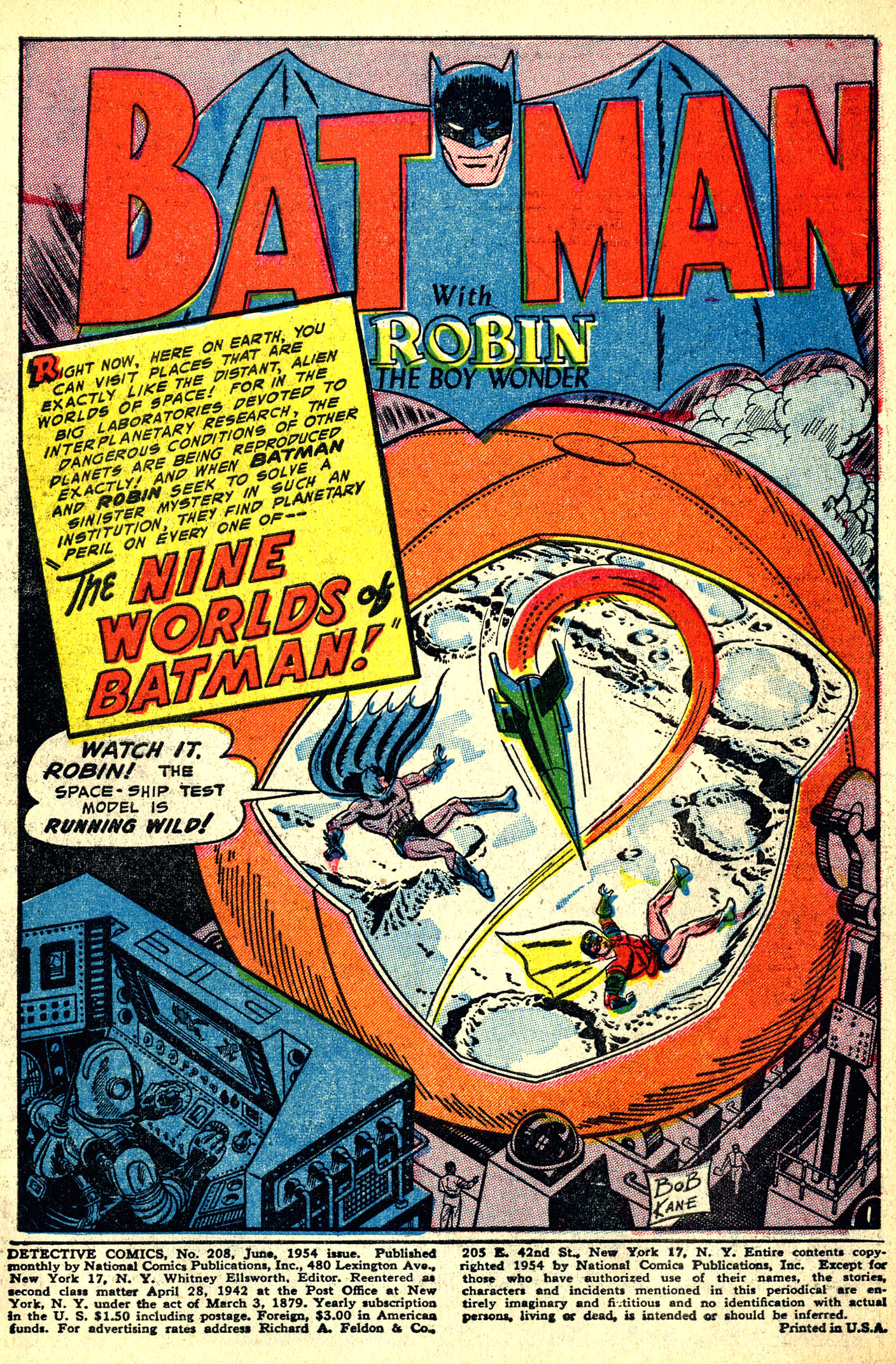 Read online Detective Comics (1937) comic -  Issue #208 - 3