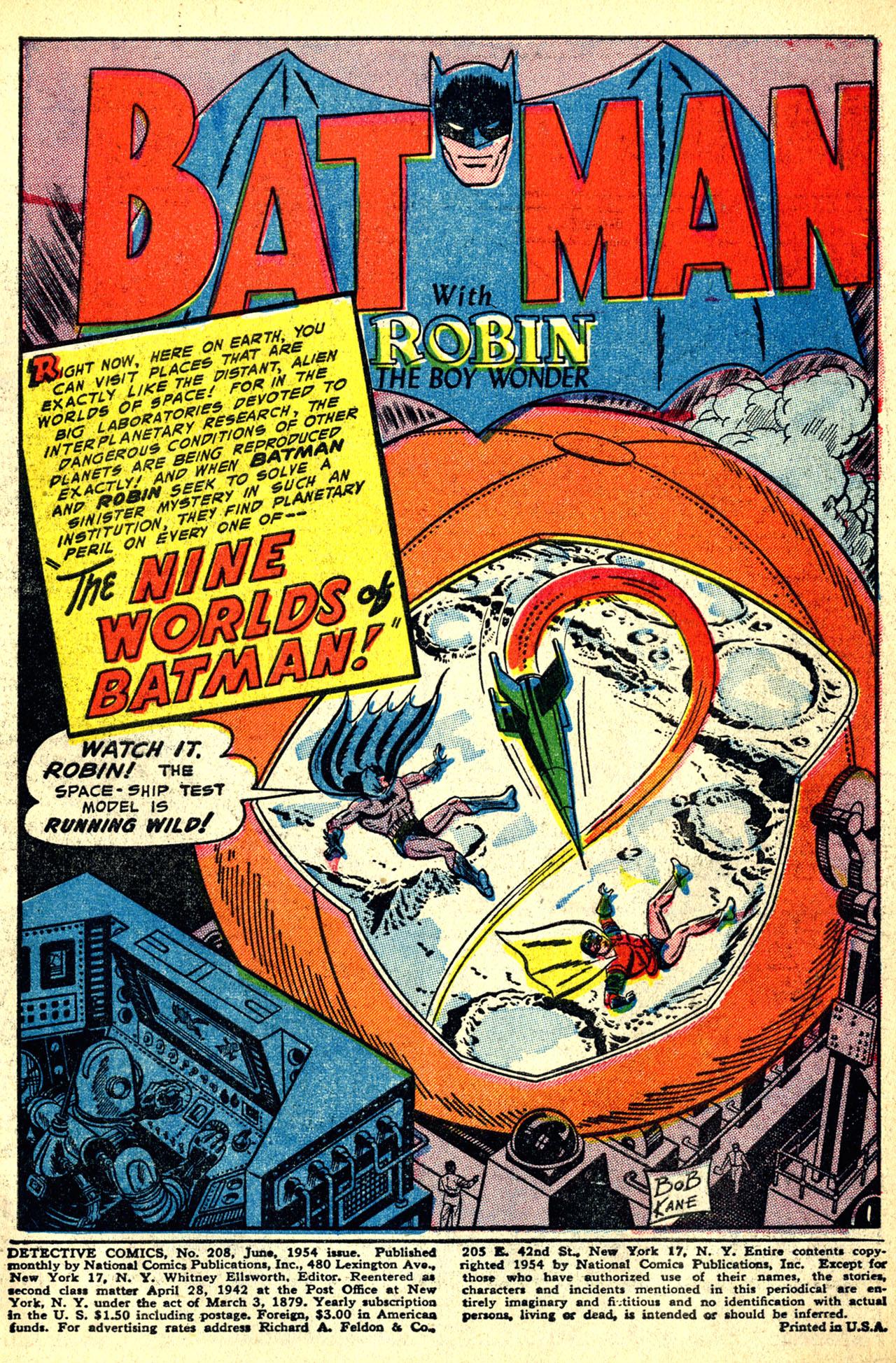 Detective Comics (1937) 208 Page 2