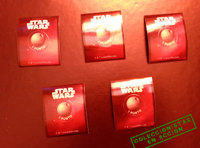 Cartas y Rollinz Star Wars