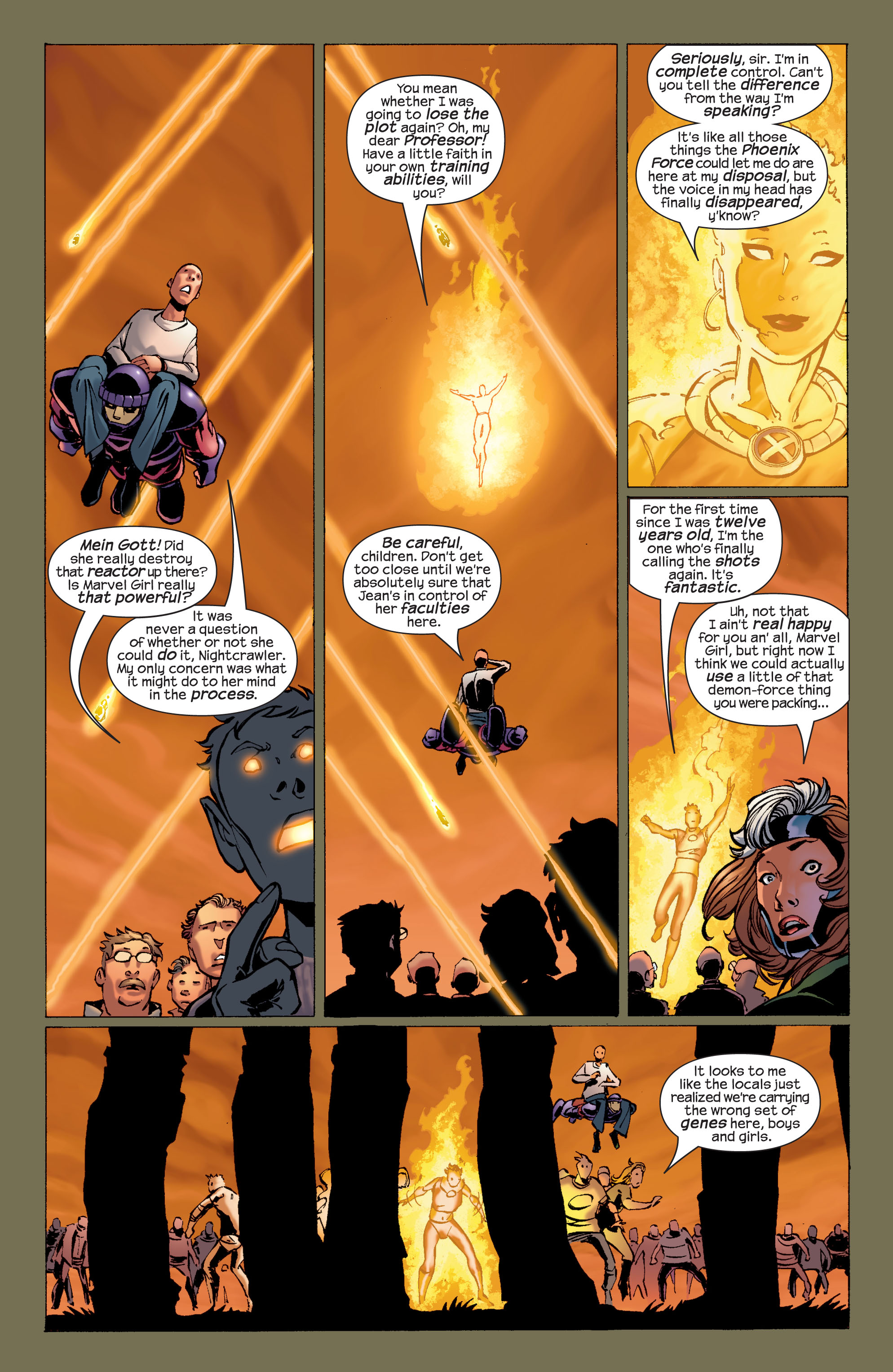 Read online Ultimate X-Men comic -  Issue #32 - 6