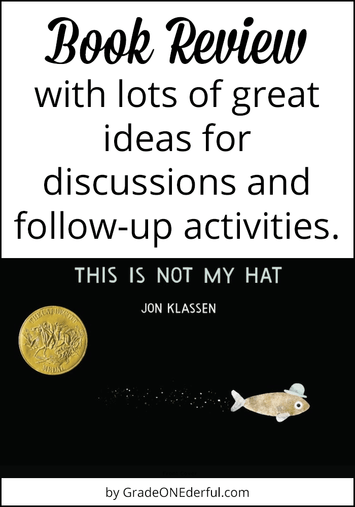 "A book review of Jon Klaasen's ""This is Not My Hat"", with LOTS of ideas for discussions and activities."