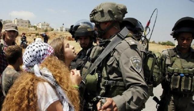 Wah, Gadis Pemberani Palestina Tampar Tentara Israel