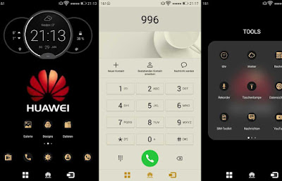 Download Huawei Gold For EMUI Huawei Themes hwt