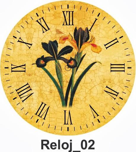 Todo En Manualidades 10 L 225 Minas Decoupage De Relojes Para