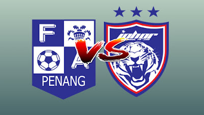 Live Streaming Penang FA vs JDT II Liga Premier 19.4.2019