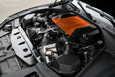 2016 BMW M6 Coupe engine