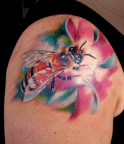 bee tattoos design like cool tattoos