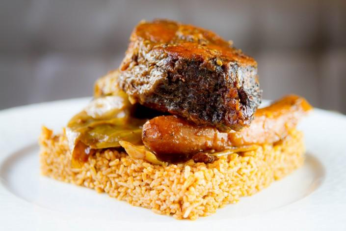 Le Chameau Bleu - Blog Gastronomie et Voyage - Au petit club africain - Puteaux