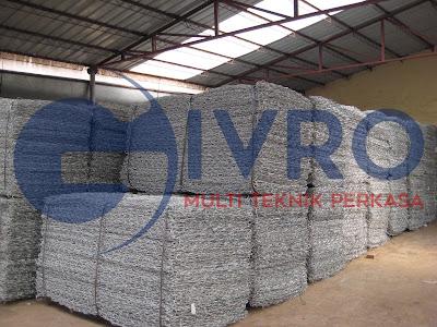 produksi kawat bronjong harga distributor