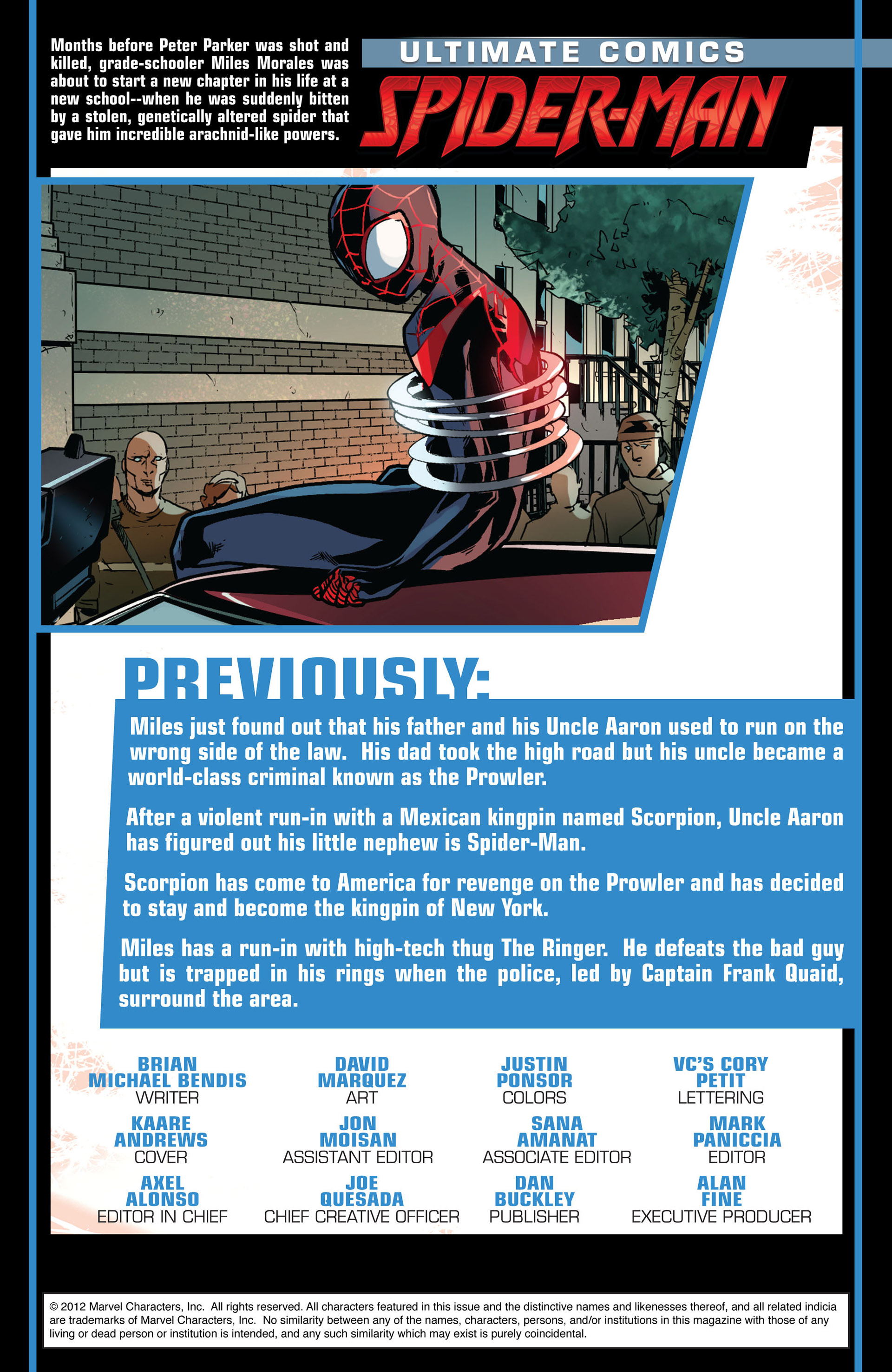 Read online Ultimate Comics Spider-Man (2011) comic -  Issue #9 - 2
