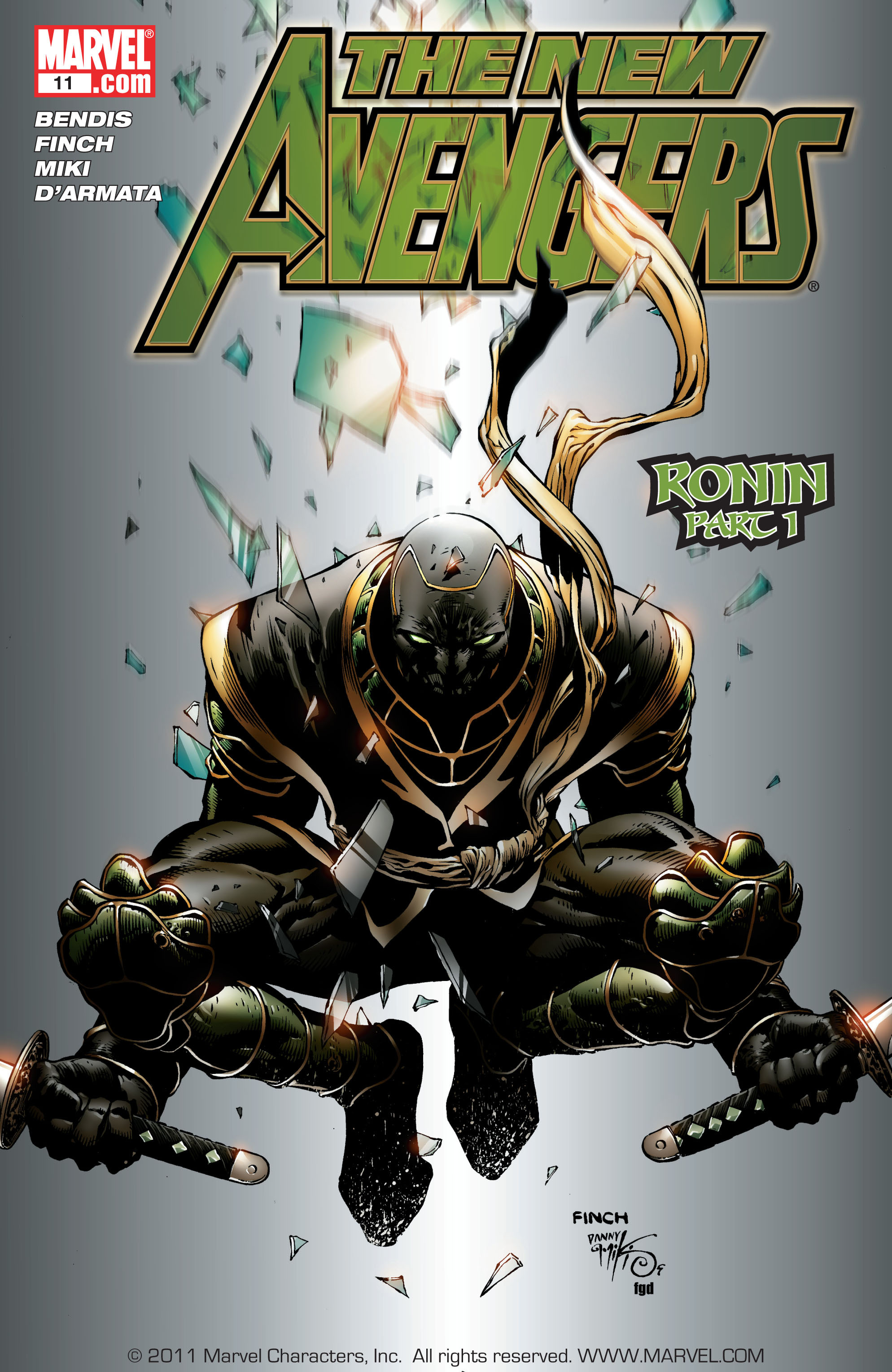 New Avengers (2005) issue 11 - Page 1