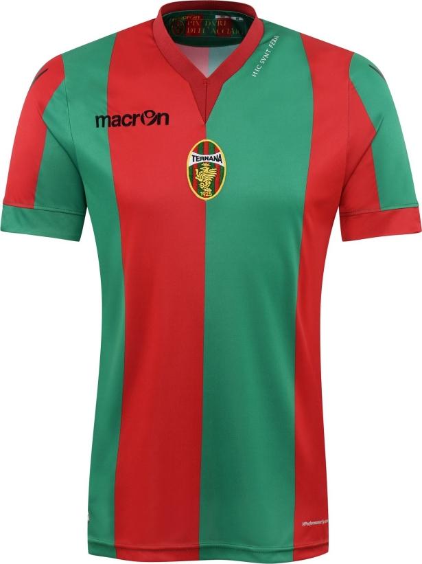 Macron divulga as novas camisas do Ternana Calcio - Show de Camisas 75999beaa57a7