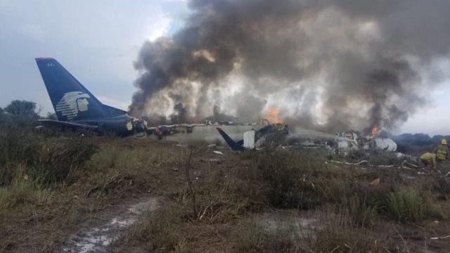 Μεξικό: Συνετρίβη αεροσκάφος με 101 επιβαίνοντες και επέζησαν όλοι (βίντεο)