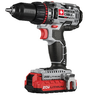 porter cable cordless drill 20v
