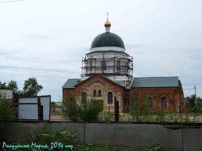 Воронежская область Церковь Иоанна Богослова