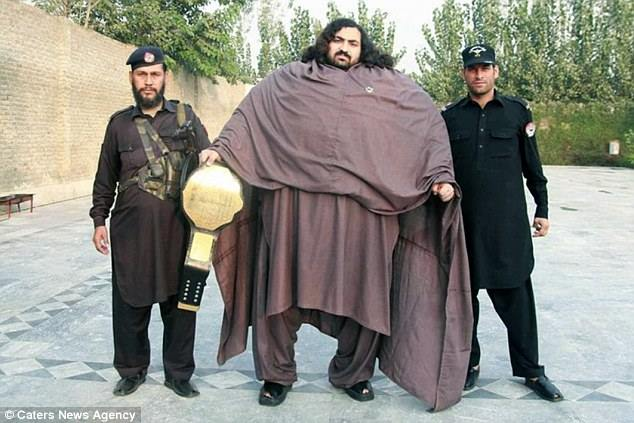 25-year -old Pakistan man is claiming to be the world's strongest man.