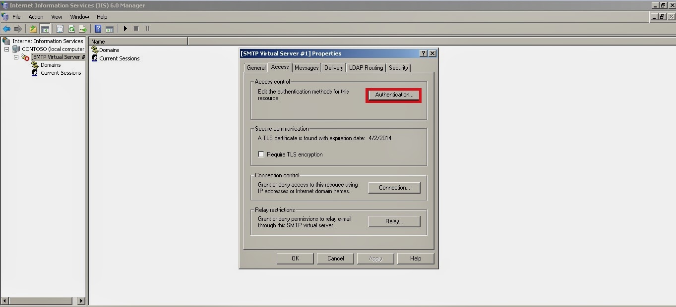 Email Configuration Ax 2012