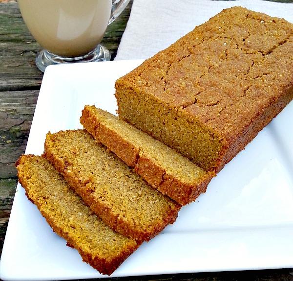 Pumpkin Quinoa Bread