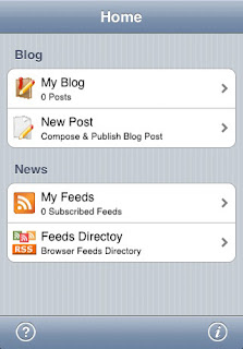 blog write blogging app