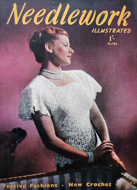 Vintage Needlework Illustrated magazine by Karen Vallerius
