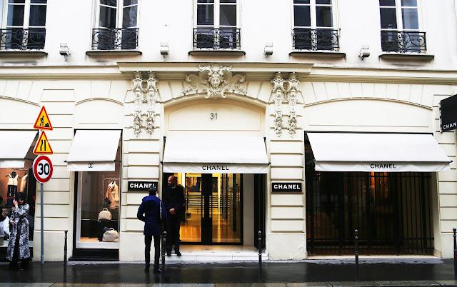 Fred Olsen River Seine Cruise Paris Rouen Honfleur Chanel Rue Cambon