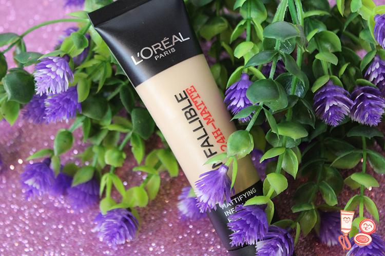 Base de maquillaje Infallible 24h-Matte de L'Or�al