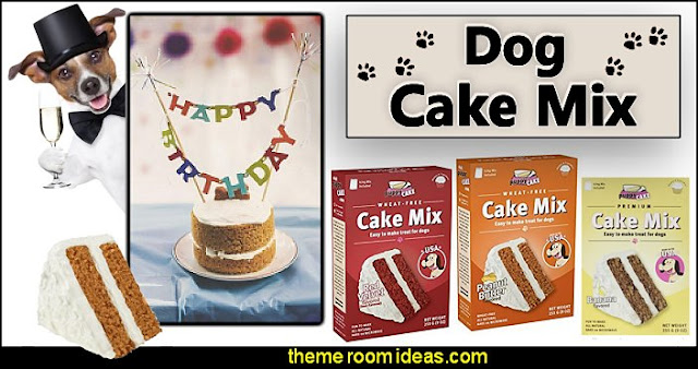 dog cake mix and frosting  puppy themed birthday party -  kids dog theme birthday party - dog birthday party decorations - Puppy Birthday Party Supplies - pet party paw prints - dog bone shaped decorations - kids birthday pet theme party - furbabies birthday party - pooch party