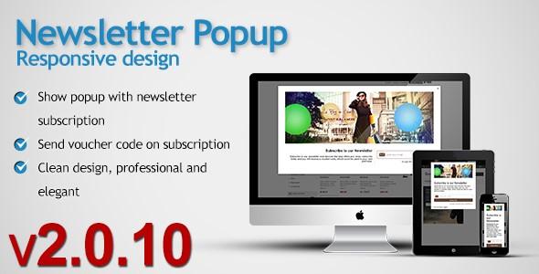 Newsletter Popup v2.0.7 for PrestaShop