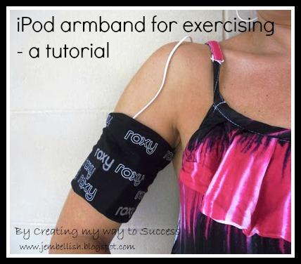 iPod armband for exercising