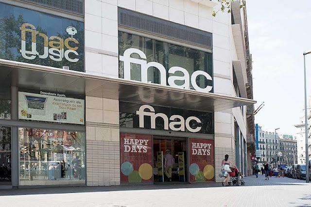 Loja Fnac em Barcelona