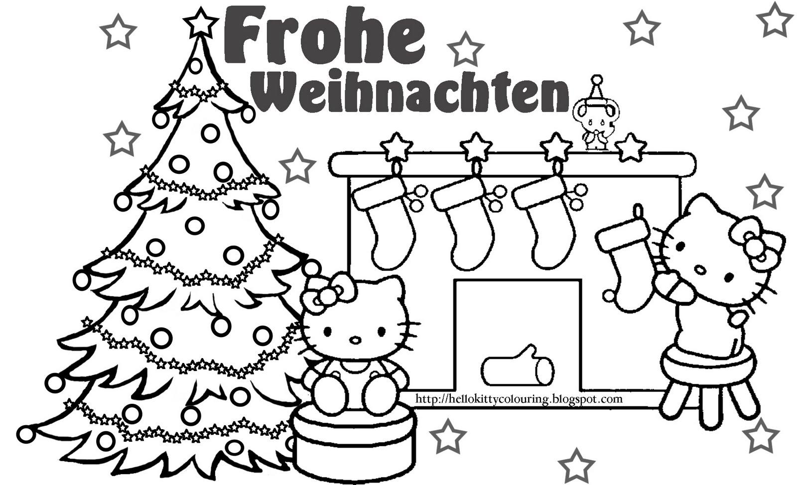 German Christmas Coloring Pages - Eskayalitim