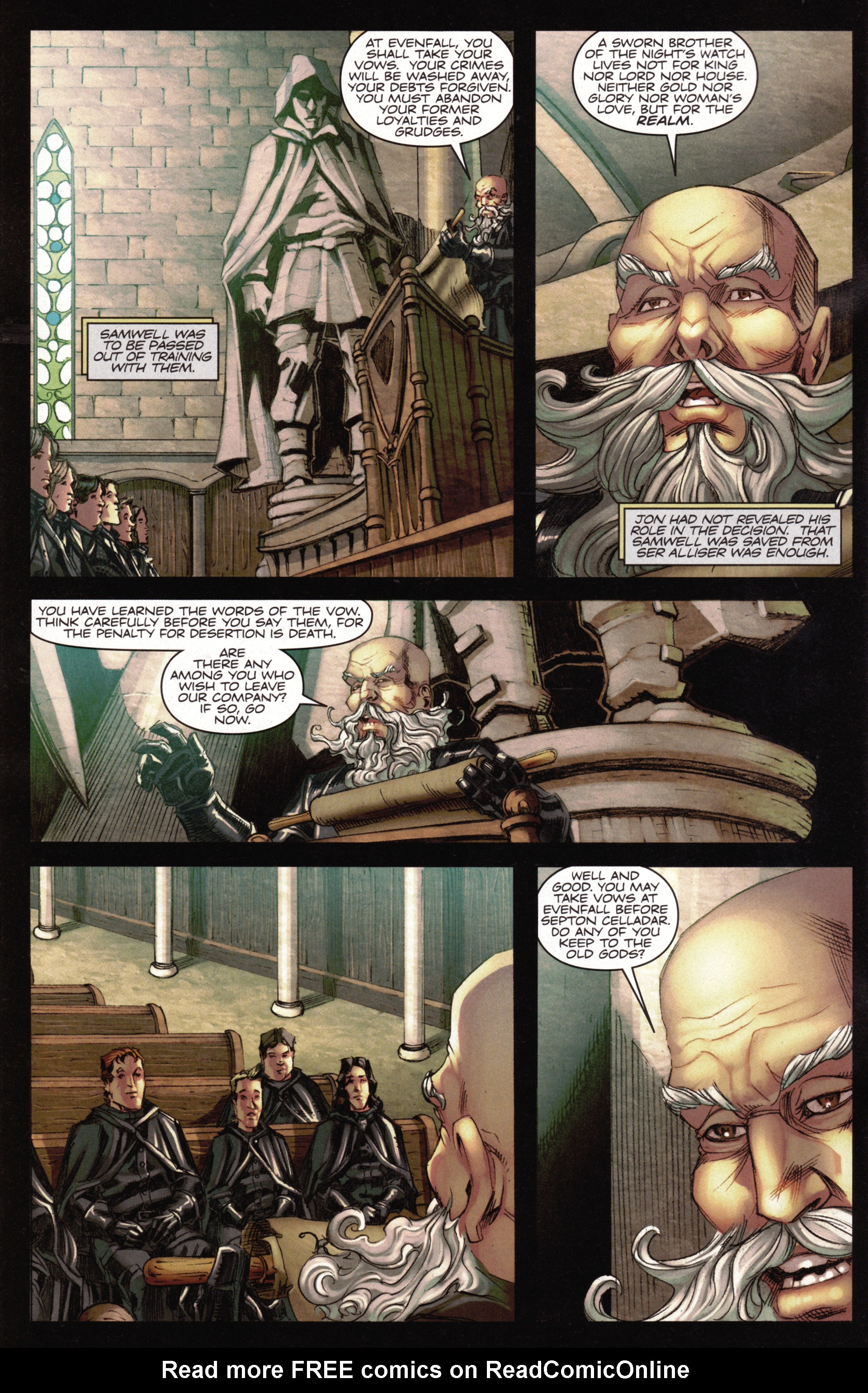 Read online A Game Of Thrones comic -  Issue #15 - 4