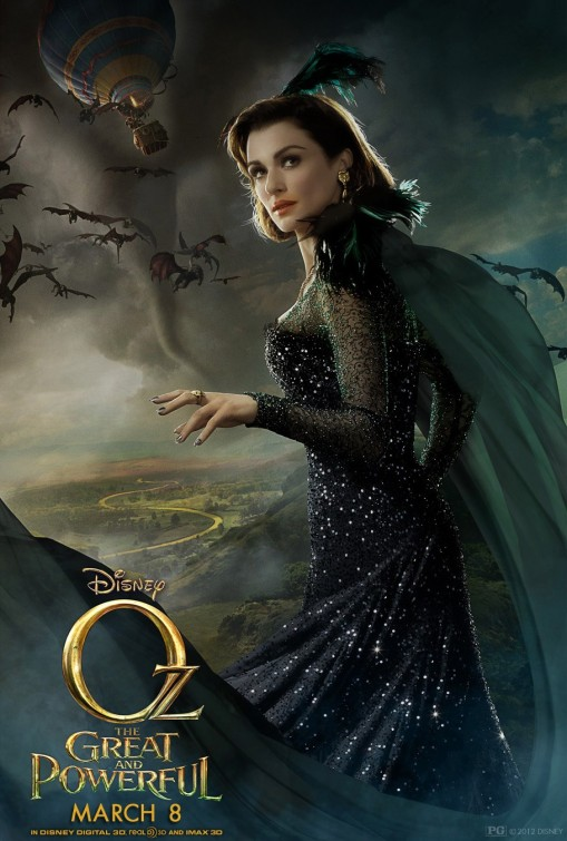 Oz The Great and Powerful Evanora poster