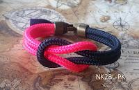 pulsera náutica nudo llano - Nautical bracelet square knot