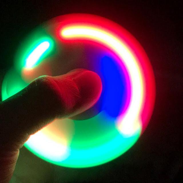 spinner đèn led đẹp