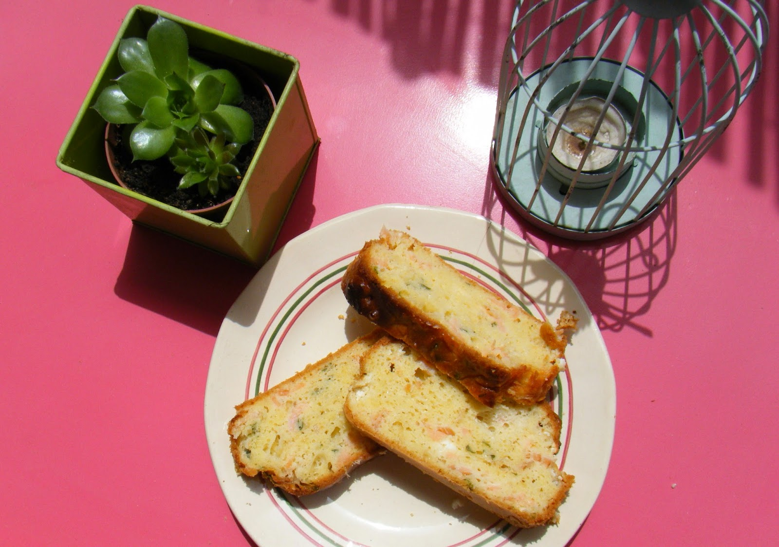 Recette Cake Saumon Olive Verte Gruyere