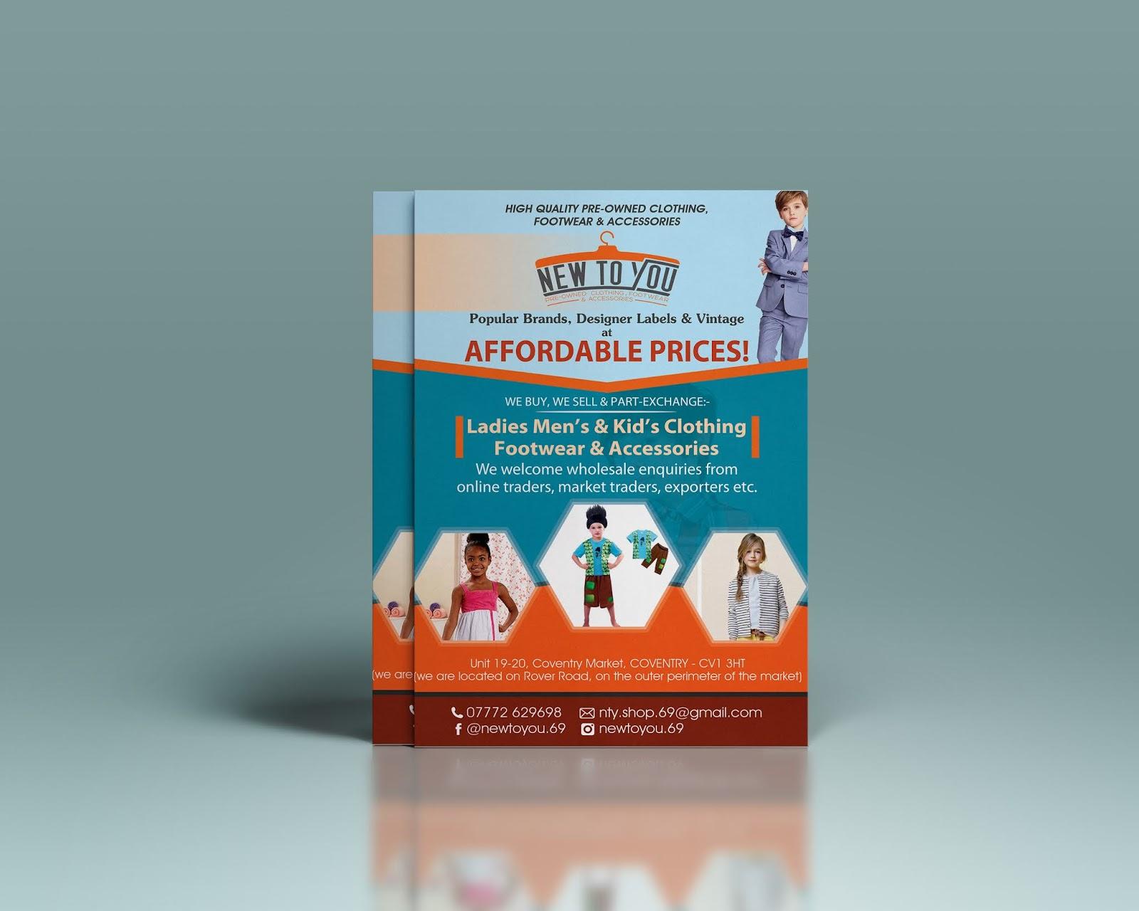 Create Flyer PSD Template Design - Shuhel Ahmed
