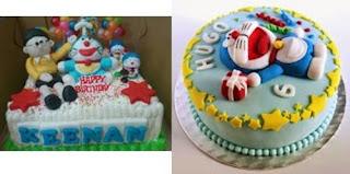 Kue Ultah Doraemon