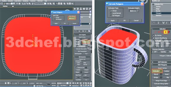 inset 3ds max poly modifier