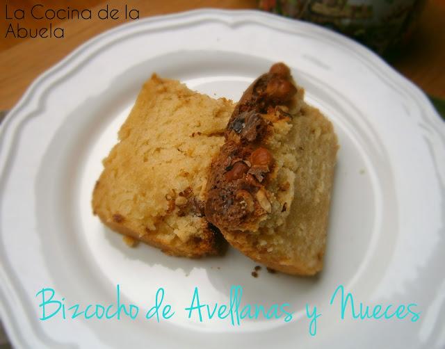 Bizcocho de Avellanas y Nueces