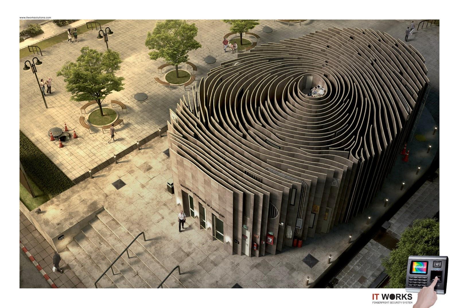 The Fingerprint Building Architectweekly