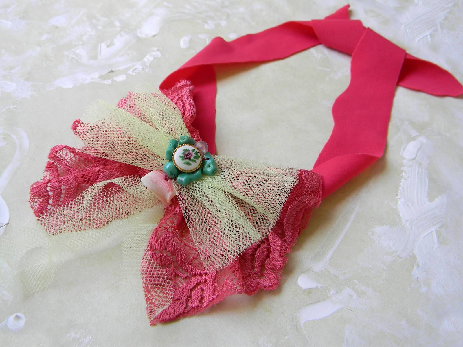 """Eye Candy"" Strawberry Handmade Necktie"