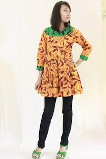 Blazer Batik Wanita Muslimah