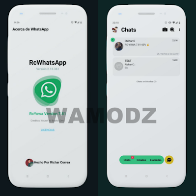 RC YOWhatsApp v7 81 IOS Edition Fix Latest Version Free Download For
