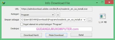 Cara Install Adobe Acrobat Reader Secara Online