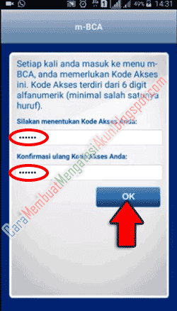 cara menggunakan bca mobile banking